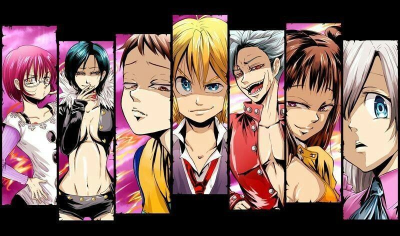 The Seven Deadly Sins Seven Deadly Sins Pinterest Anime And