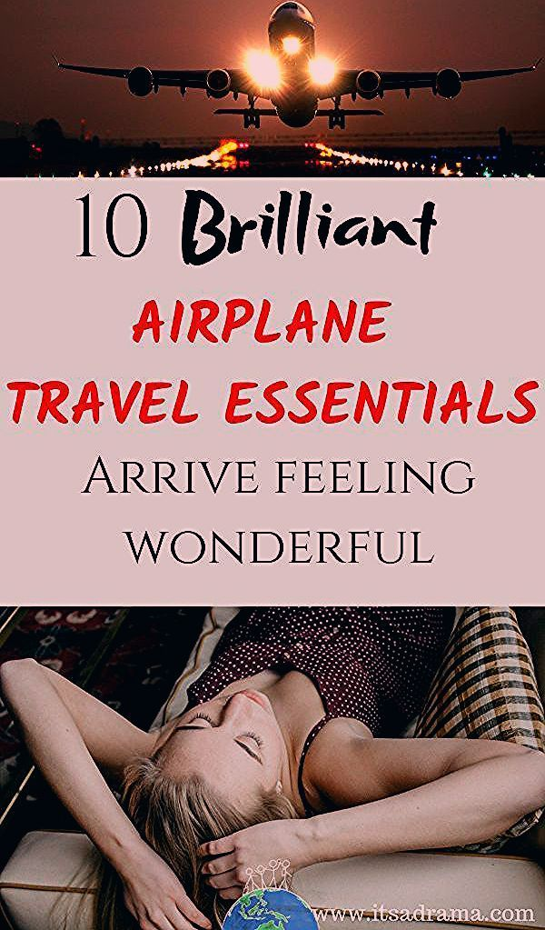 Photo of 10 (Brilliant) Travel Essentials For The Plane. Arrive Feeling Gorgeous