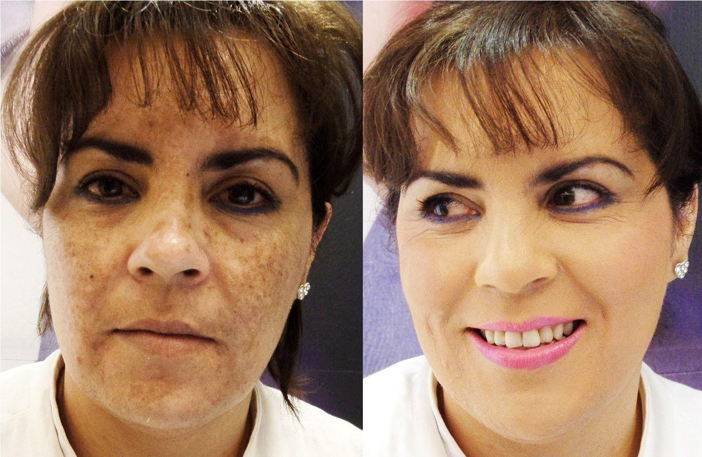 cómo cubrir manchas / how to cover hyperpigmentation