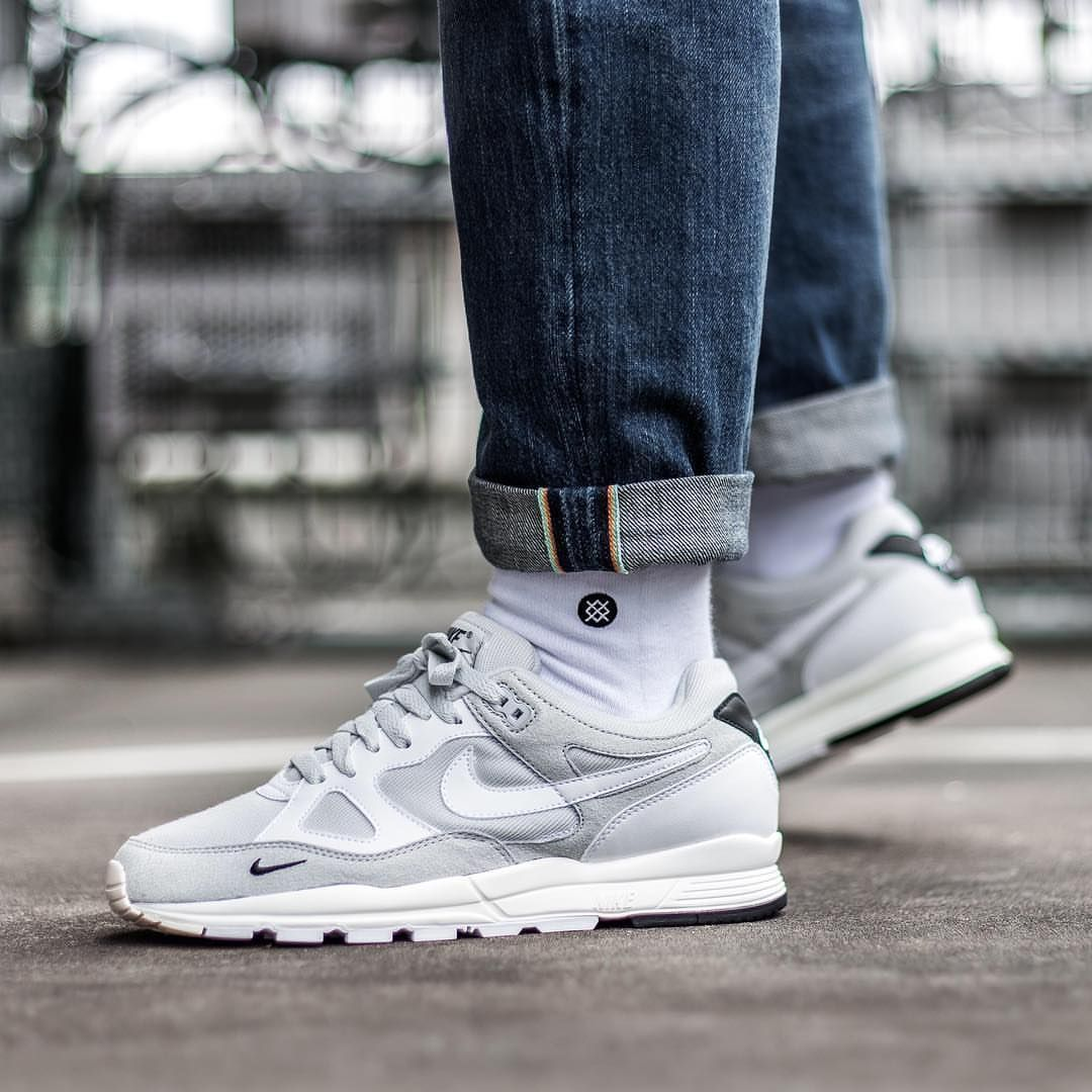 finest selection f351f ec2ac Release Date   July 12, 2018 Nike Air Span II SE Pure Platinum Credit    Afew —  nike  span  sneakerhead  sneakersaddict  sneakers  kicks  footwear   shoes ...