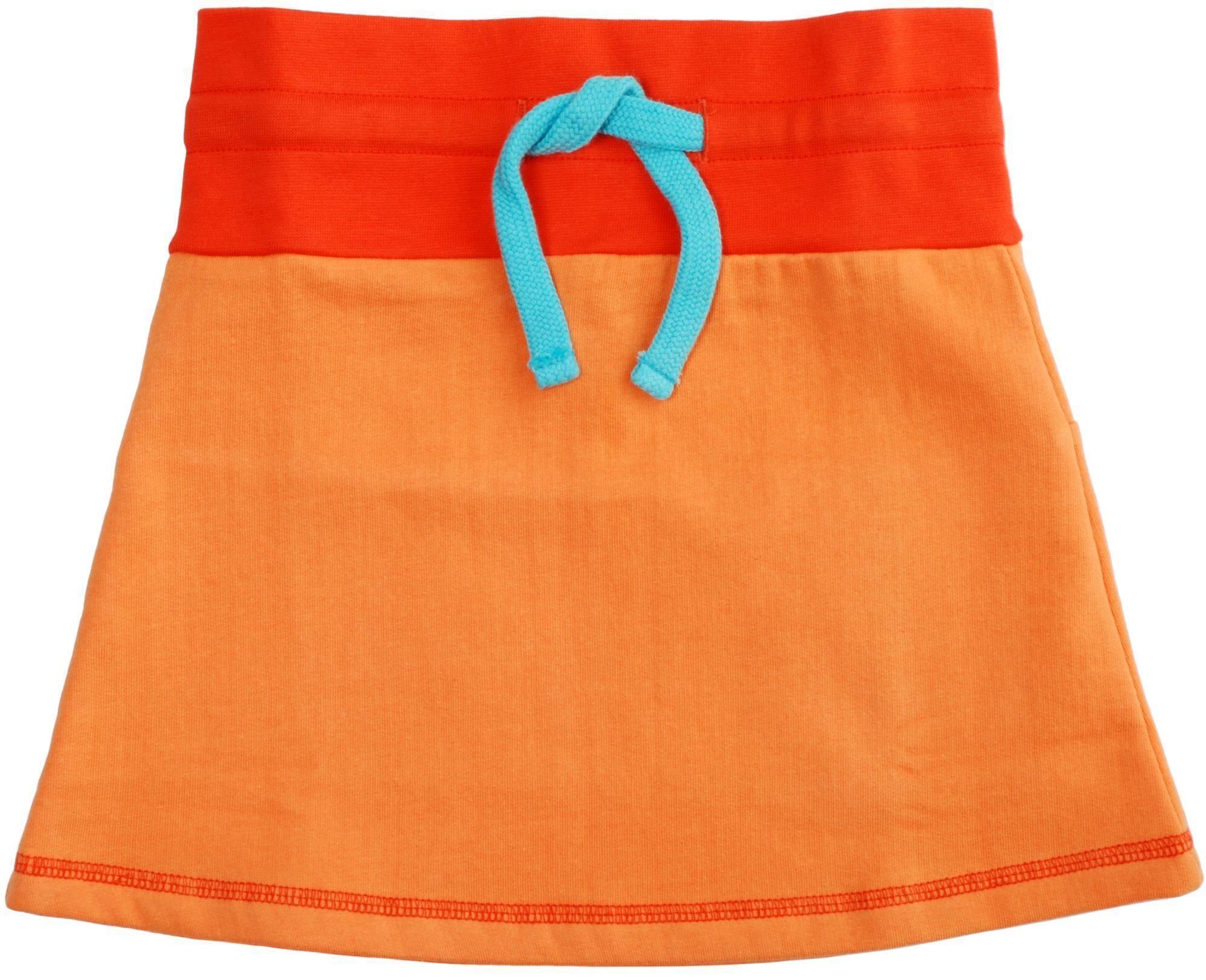 Duns Cotton skirt - Orange/red Retro Baby Clothes - Baby Boy clothes - Danish Baby Clothes - Smafolk - Toddler clothing - Baby Clothing - Baby clothes Online