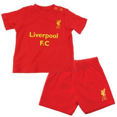 NEW IN - Liverpool Core Kit T-Shirt and Shorts Set