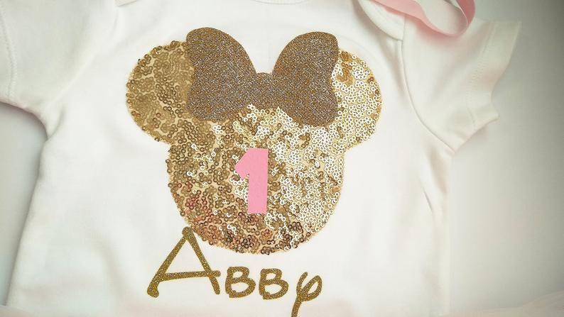 Pink And Gold Minnie Mouse Tutu Set Minnie Mouse Birthday Outfit Minnie Mouse Tutu Outfit 1st Birthday Minnie Tutu Minnie Mouse Ears Traje De Cumpleaños De Minnie Mouse Conjuntos Tutu Traje De Cumpleaños