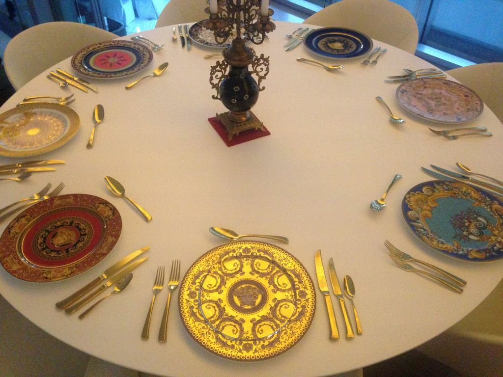 Our curators table is simply stunning.
