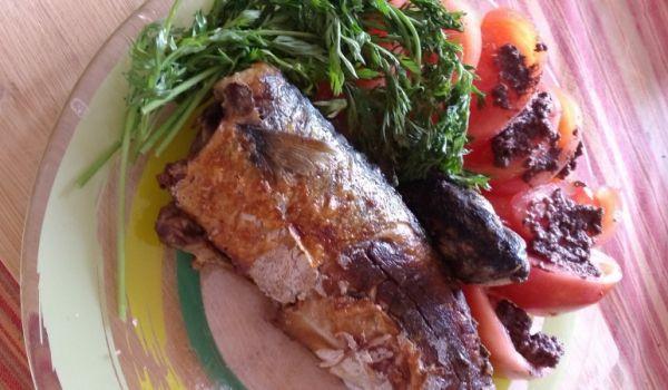 #Скумрия на тиган с маслинена паста От Aneliya Shishmanova http://recepti.gotvach.bg/r-44438
