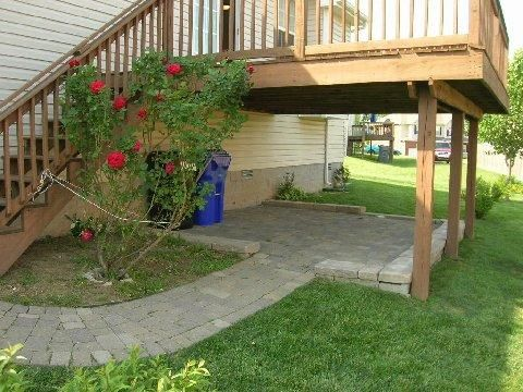 Under Deck Outside Spaces Pinterest Decking Pea