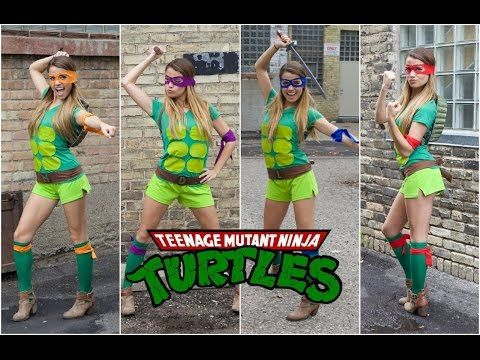 teenage mutant ninja turtle kost m selber machen. Black Bedroom Furniture Sets. Home Design Ideas