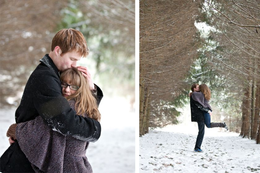 Emily & Andrews Engagement » Melissa Weber Photography - winter