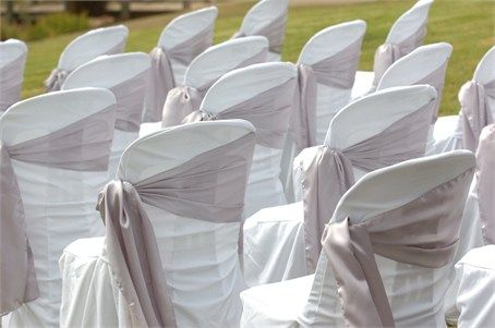 unusual chair covers bean bag chairs canada an way to display wedding ceremony