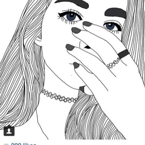 Akari Menina Tumblr Desenho Desenhos Tumblr Para