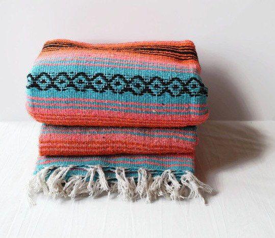 Tischla Ufer Tischdecke Sarapes Original Mexikanische Decke