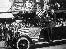Wilson is the only U.S. President buried in Washington, D.C. The 28th President is in a sarcophagus at the Washington National Cathedral. William Howard Taft and John F. Kennedy are interred at Arlington, Virginia. #woodrowwilson #presidentwoodrowwilson