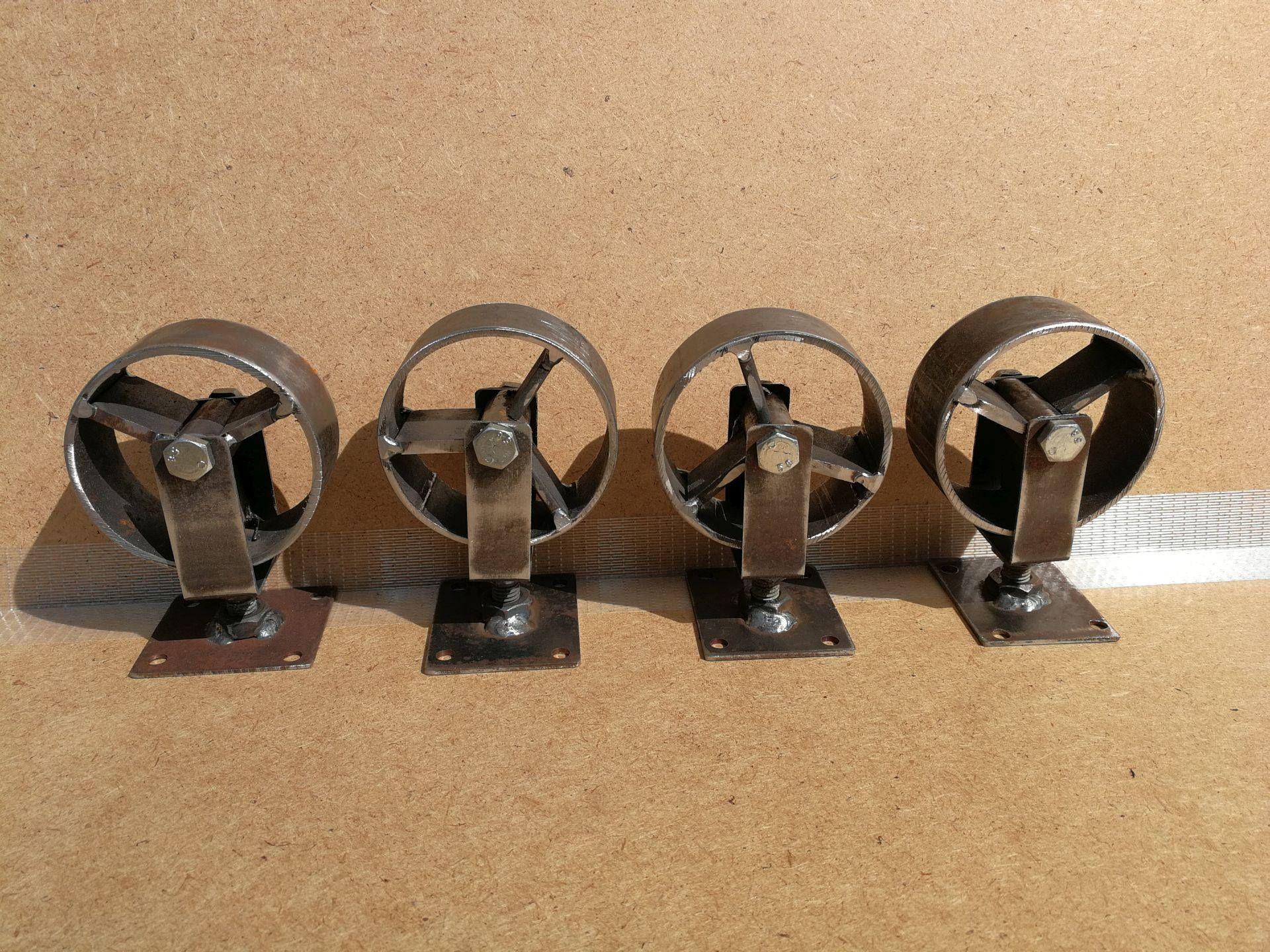 industrial furniture swivel metal