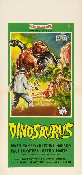 Another poster for DINOSAURUS
