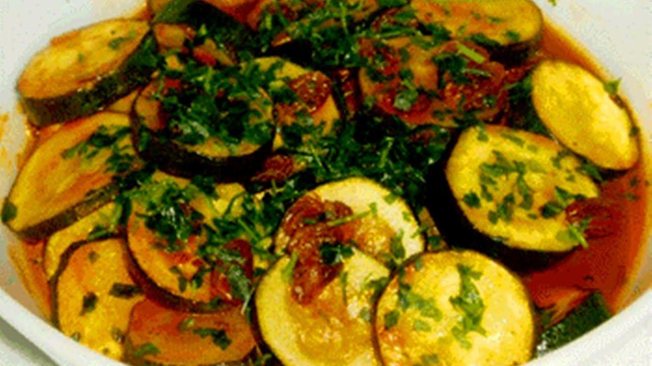 Zucchini al Queso - Zucchini Cheese - Recetas de cocina