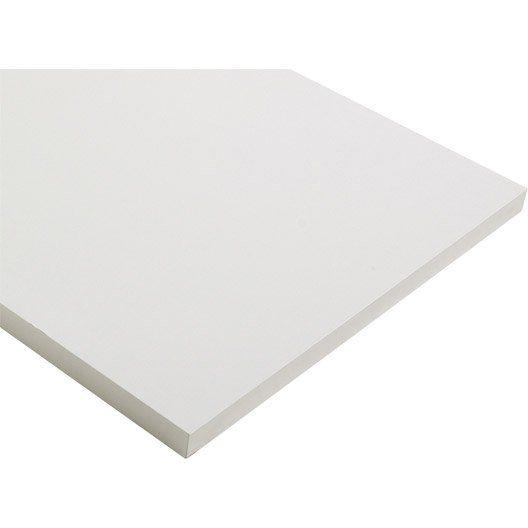 Plateau De Table Structure Alveolaire Blanc L 200 X L 59 Cm X Ep 34 Mm Panneau Bois Bois Sur Mesure Magasin Leroy Merlin