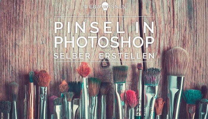 Pinsel gehören zu den Malwerkzeugen von Photoshop und können sehr kreativ eingesetzt werden. Und das Beste: Pinsel lassen sich ganz einfach selber erstellen! Zeichnungen, Formen oder Texturen lassen sich so leicht wiederverwenden. Wie es geht zeig ich euch heute im Blog.