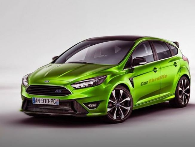 2015 Ford Focus Rs Rendering Ford Focus Rs Ford Focus Ford Focus Rs 2015