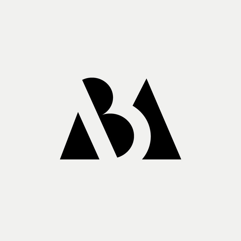 mb modern monogram by british freelance logo designer richard baird richardbairdcom - Modern Logos Design Ideas