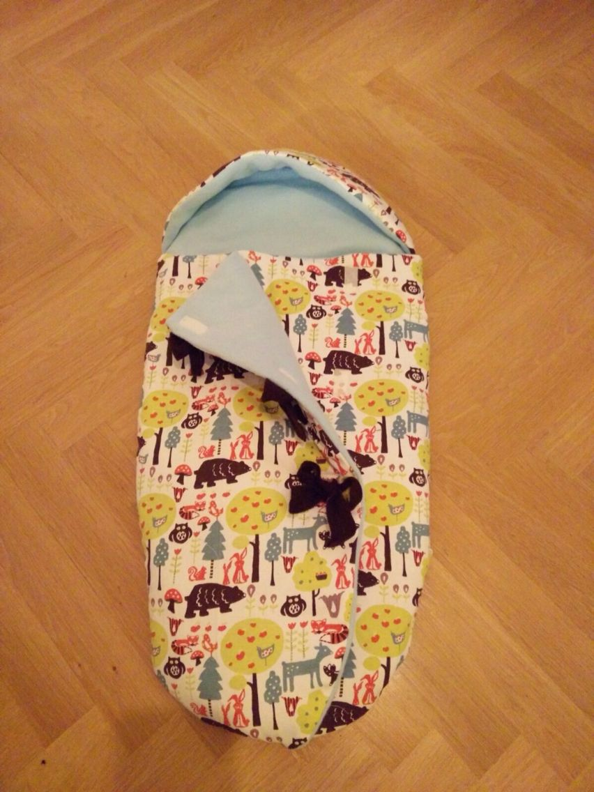 Baby Schlafsack genäht nach Burda Schnittmuster | nähen | Pinterest ...