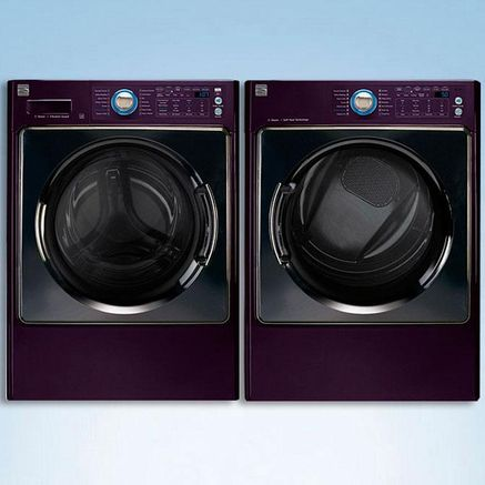 Cool That They Re Purple Lol Kenmore Elite Kenmore Elite Washer Washer And Dryer