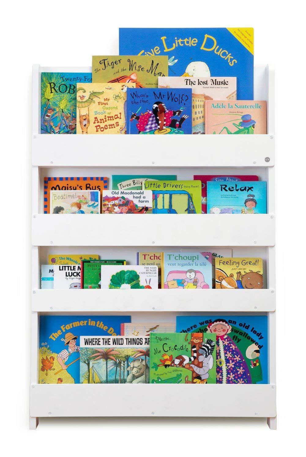 Tidy Books Das Originale Kinder Bucherregal In Weiss Buchcover