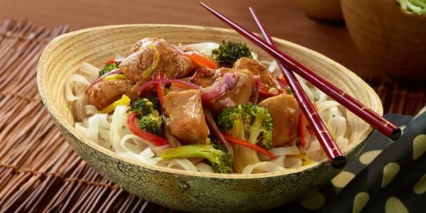 Stumped on what to make for dinner?  Try this delicious Asian Chicken Pan Grill recipe.