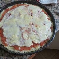 Pizza de arroz  argentina