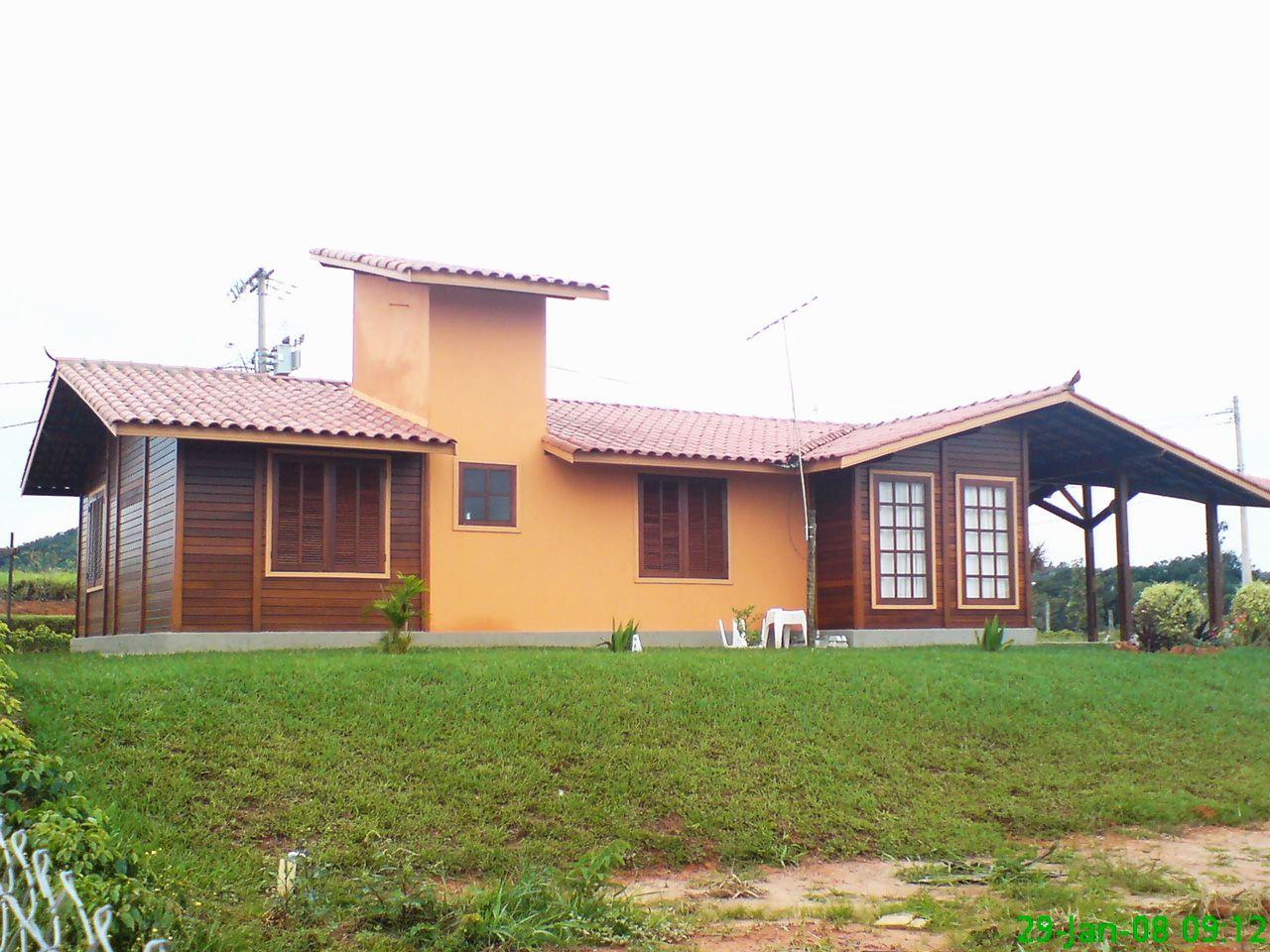 obras realizadas  u00ab brasil casas casas de madeira Tan Large Homes Tan Large Homes