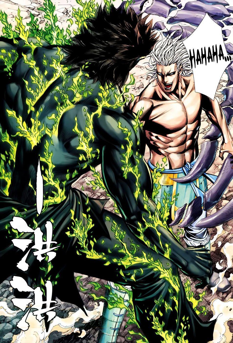 Feng shen ji spectrum nexus manga manga pages anime