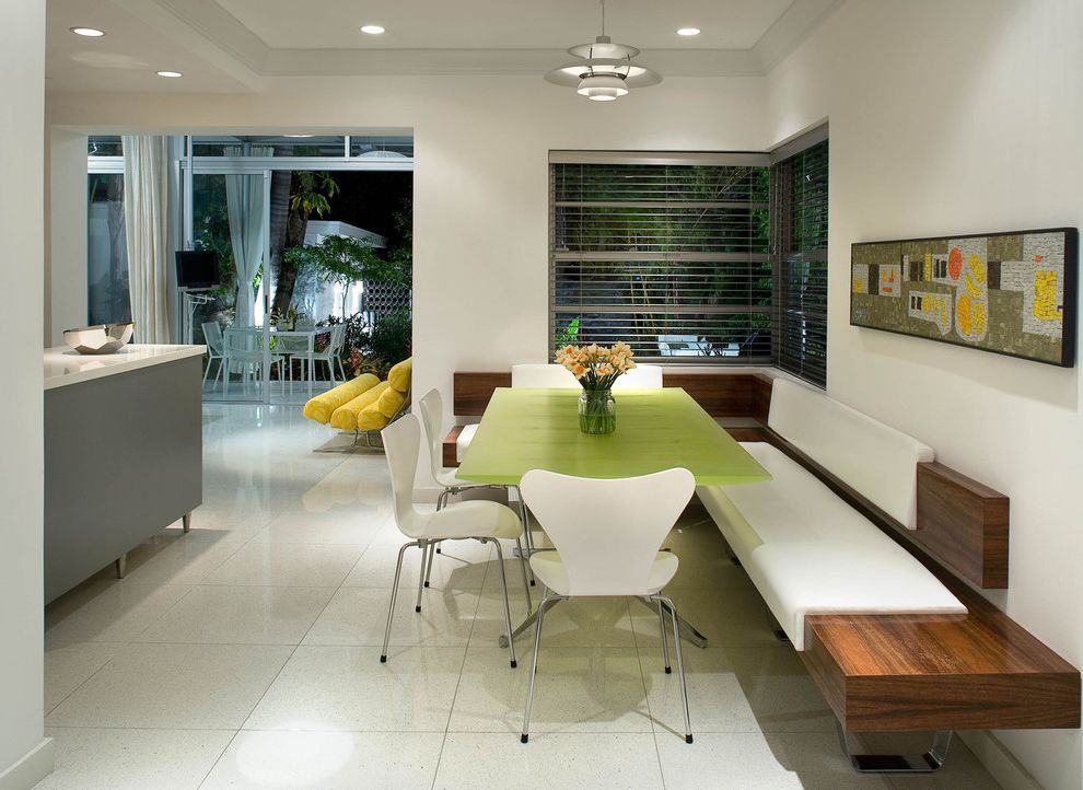 Modern Banquette Seating For Midcentury Kitchen And Built In Wood Bench Home Design I In 2020 Banquette Seating In Kitchen Booth Seating In Kitchen Banquette Seating