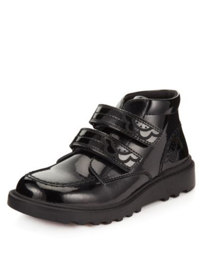 Kids' Leather Scuff Resistant Patent