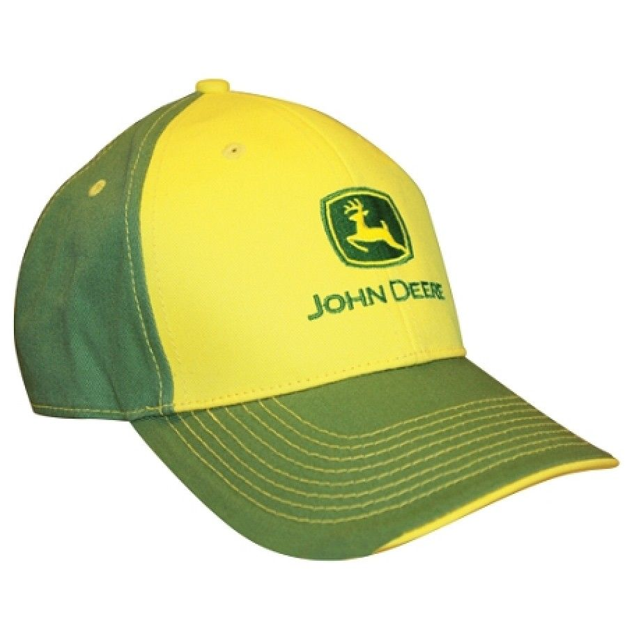 JOHN DEERE *GREEN /& YELLOW* Twill Mesh CAP HAT *BRAND NEW* RICHARDSON 112 3D