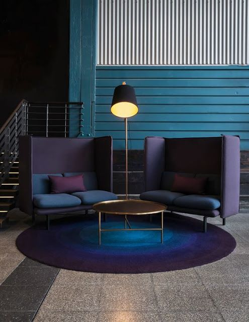 Trend violet in interior design for Design hotel definizione