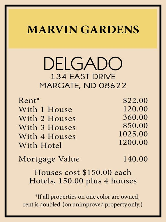 1bf36082f079d54387f0b00739690281 - Where Is Marvin Gardens From Monopoly