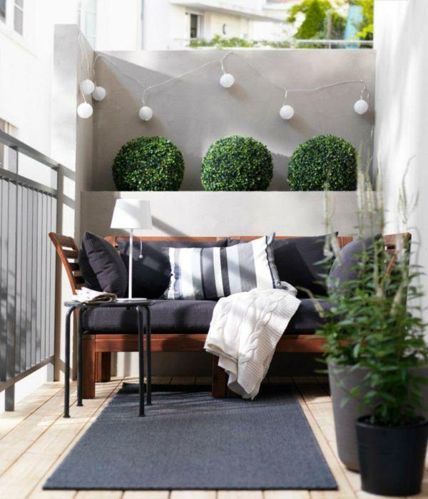Kleinen Balkon gestalten - Laden Sie den Sommer zu sich ein mini - balkonmobel fur kleinen balkon ideen