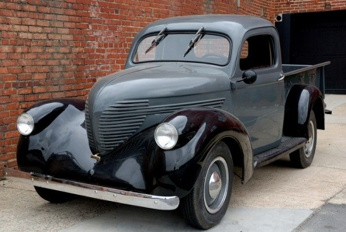 1938 Willys Pickup - Man, to find one with that hood in good shape!