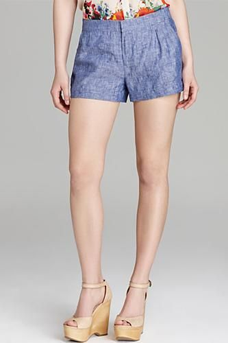 Denim shorts you can feel classy in.