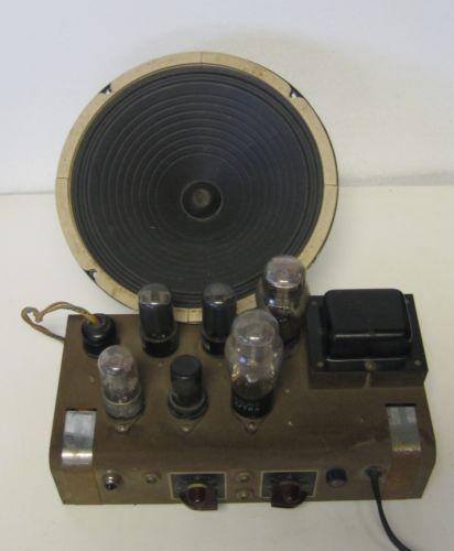 Vintage Jensen Speaker c10rs Tube Guitar Amplifier Detroit