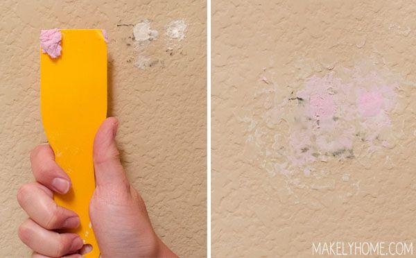 How to repair textured drywall | home repairs, diy home repair.
