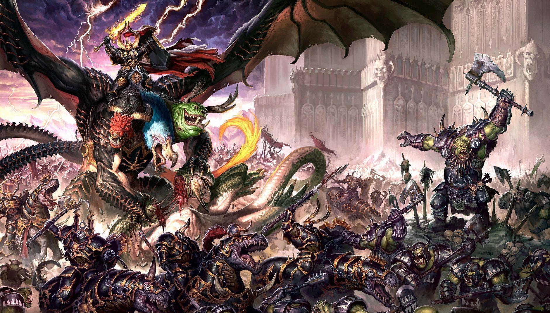 Forces Of Chaos vs Orruks