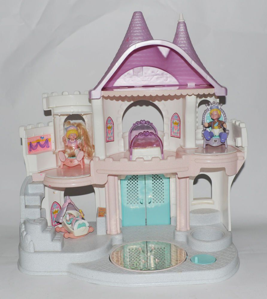 Fisher Price Loving Family Once Upon A Dream Castle Dollhouse This