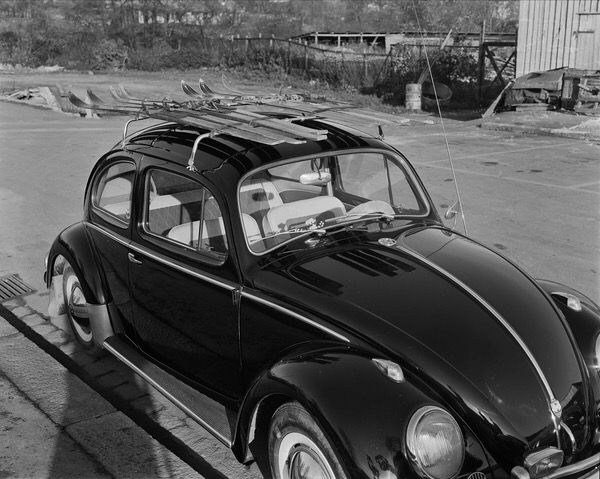 """October 24.1960. Brand new beetle just delivered from VW dealer """"Sørensen og Balchen AS"""""""