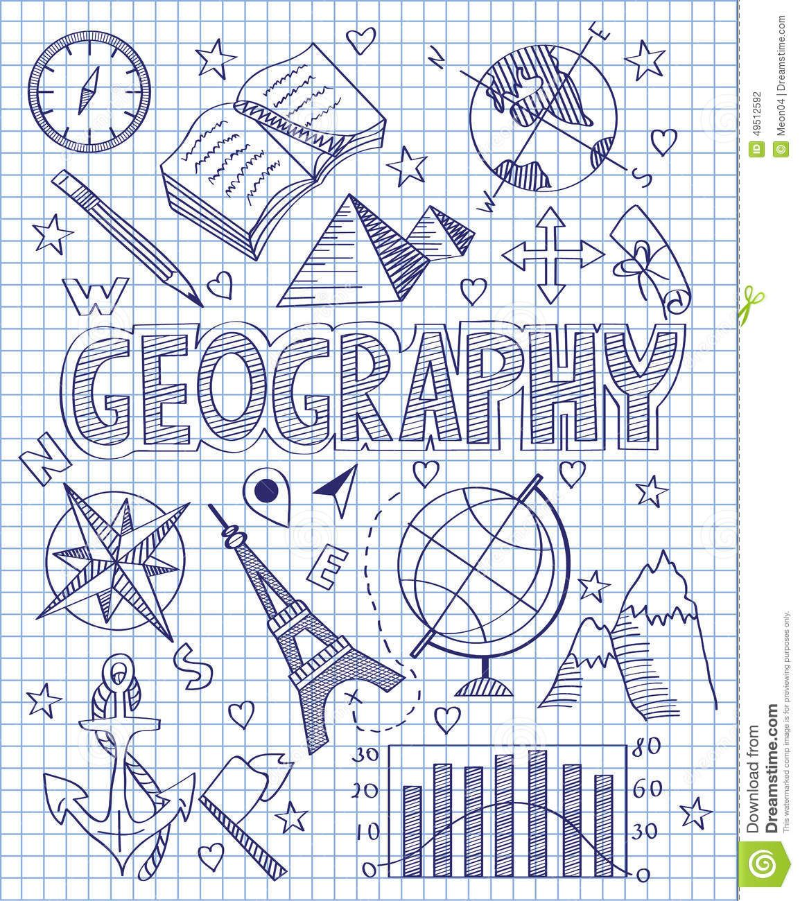 Photo about vector illustration of hand drawn geography set photo about vector illustration of hand drawn geography set illustration of direction collection ccuart Images
