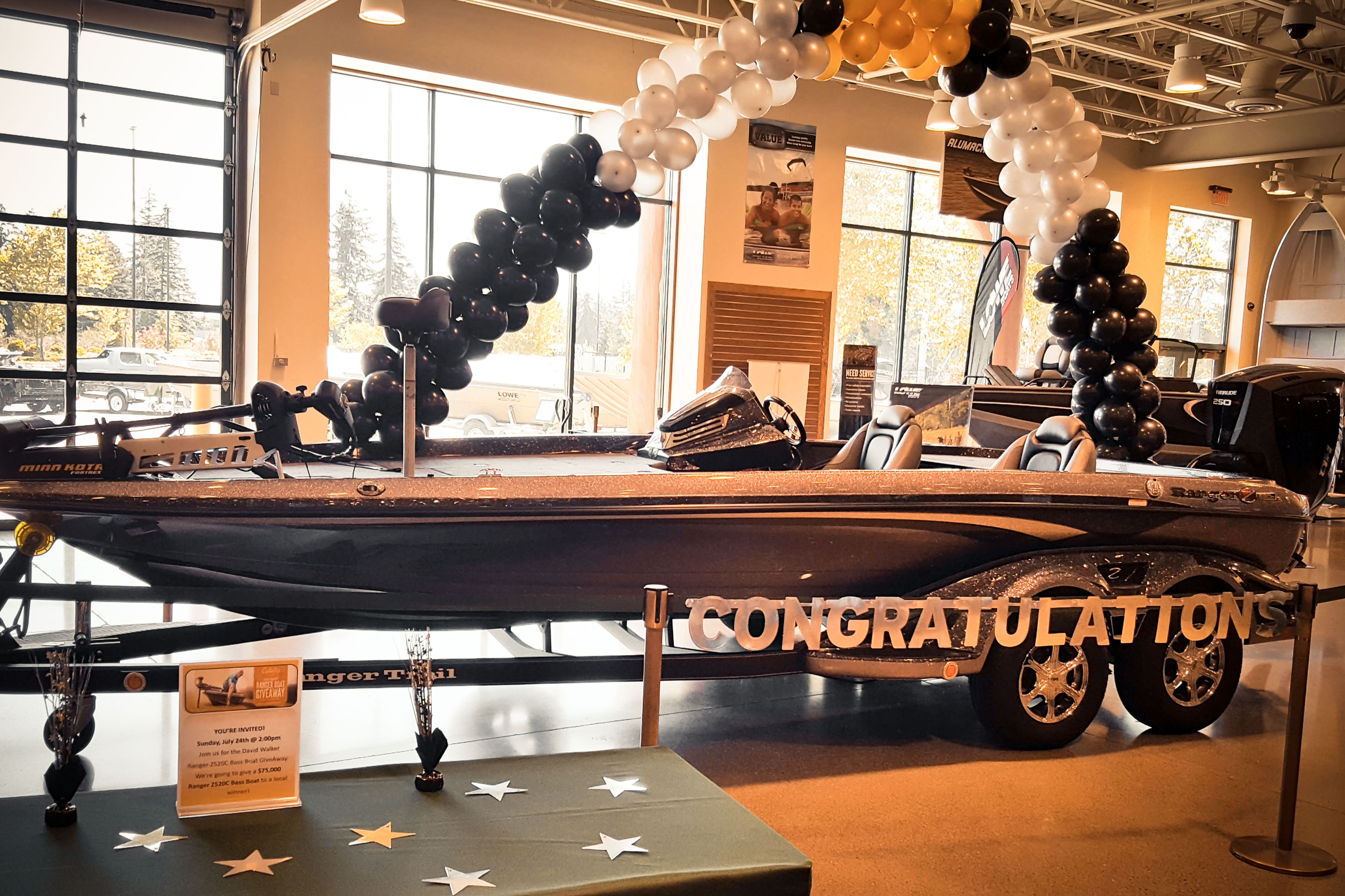 Boat giveaway 2018