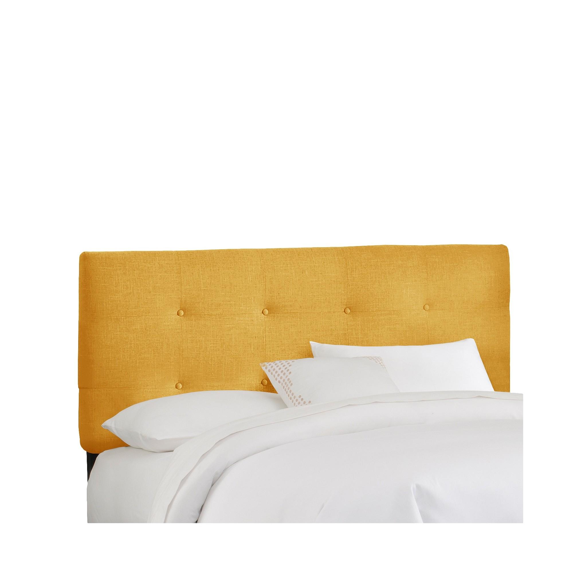 Dolce Linen Headboard - French Yellow - California King - Skyline ...
