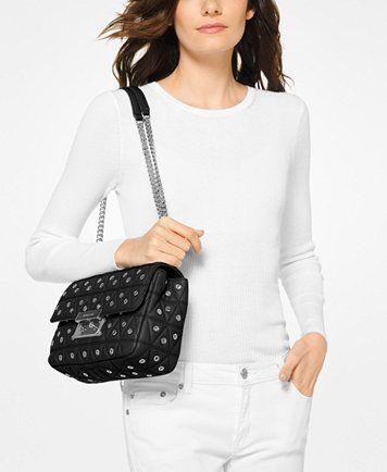 efe5fcc9bd50e6 MICHAEL Michael Kors Sloan Large Chain Shoulder Bag | macys.com ...