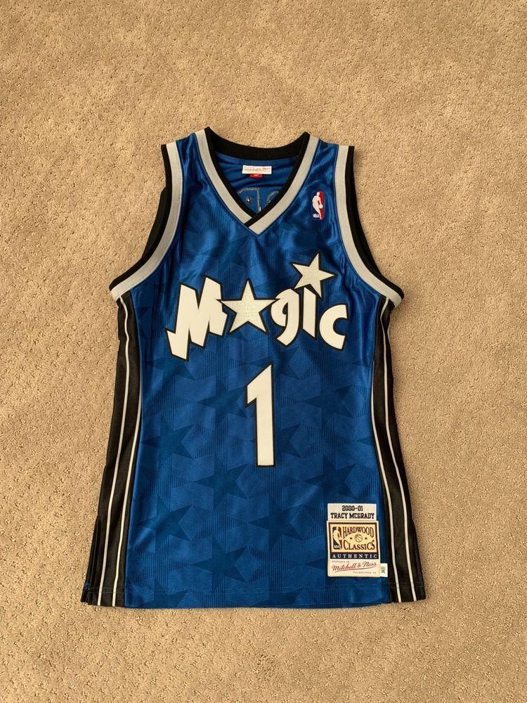d9448cad8 Tracy McGrady Orlando Magic Mitchell   Ness Authentic 2000 Blue NBA Jersey  S (eBay Link)