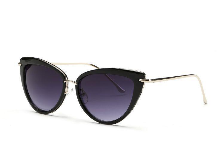 5a66c7d85 Alloy Temple Sunglasses Women Top Quality Sun Glasses Original Brand  Designer UV400