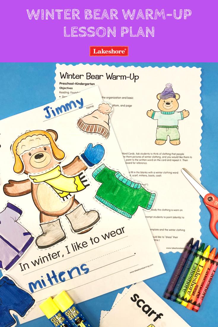 Winter Bear Warm Up Lesson Plan Preschool Weather Preschool Themes Free Lesson Plans [ 1102 x 735 Pixel ]